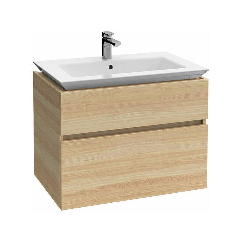 VILLEROY UND BOCH AG Meuble sous-lavabo Villeroy & Boch Legato B290, 800x590x500mm, Coloris: Elm