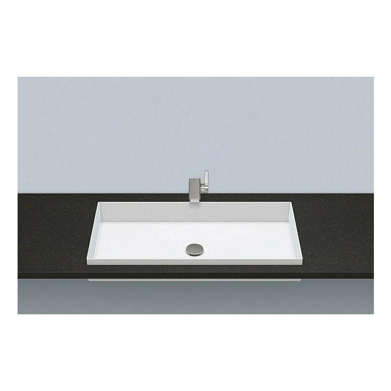 ALAPE Vasque à encastrer EB.ME750, rectangulaire L : 750mm H : 111mm P : 375mm,
