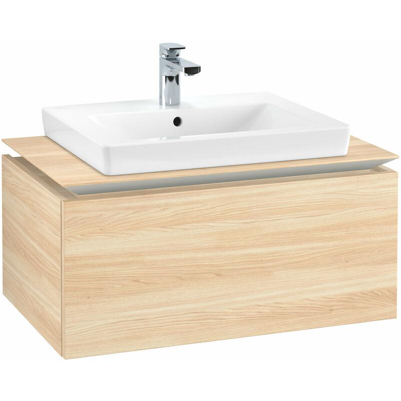 VILLEROY UND BOCH Villeroy & Boch Legato Meuble sous-lavabo B10360, 800x380x500mm, centré lavabo,