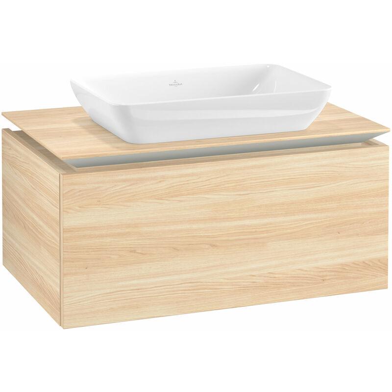 VILLEROY UND BOCH Villeroy & Boch Legato Meuble sous-lavabo B22600, 800x380x500mm, centré lavabo,