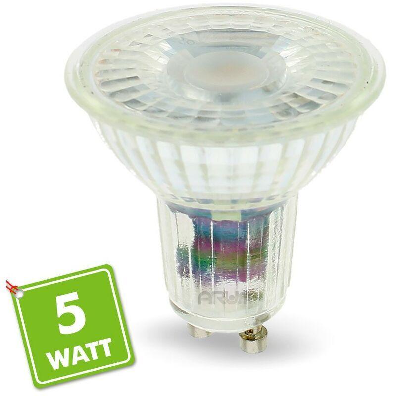 ARUM LIGHTING Ampoule LED GU10 5W 420 Lm Eq 50W   Température de Couleur: Blanc neutre 4000K