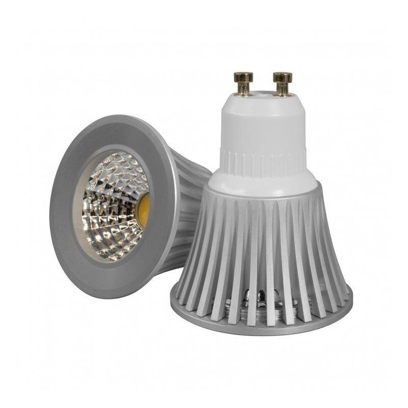 ECOLIFE LIGHTING Blanc Chaud - Ampoule LED GU10 Dimmable - 5W - COB Bridgelux