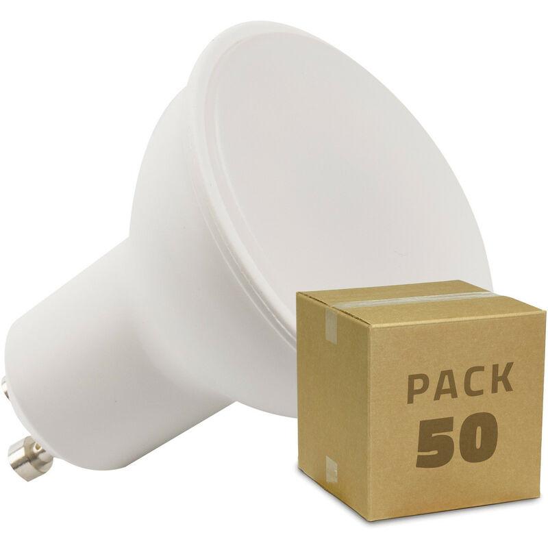 LEDKIA Boîte de 50 Ampoules LED GU10 S11 Dimmable 120º 5W Blanc Froid