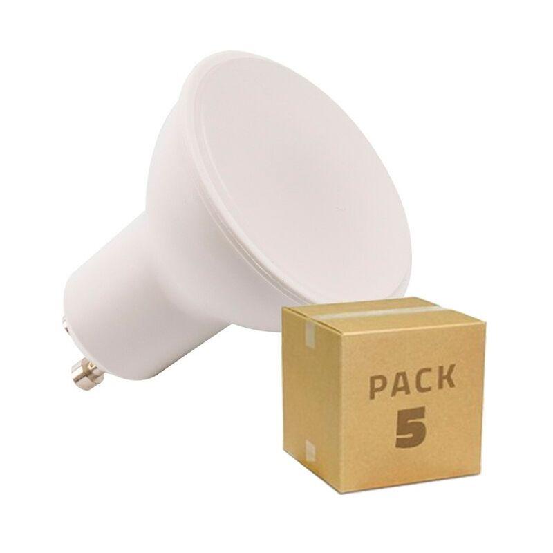 LEDKIA Pack 5 Ampoules LED GU10 S11 120º 6W Blanc Neutre 4000K - Blanc Neutre 4000K