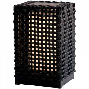 ZENITECH Lampadaire extérieur solaire hauteur 24,5cm 20lm - Zenitech - Publicité