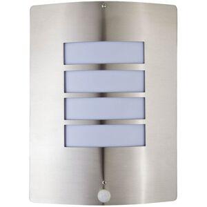 HARMS Applique luminaire mural détecteur de mouvement jardin terrasse acier - Publicité