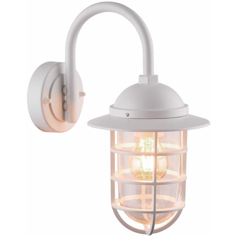 ETC-SHOP Lanterne murale ALU Lampe de porte de maison Télécommande Lampe d'extérieur