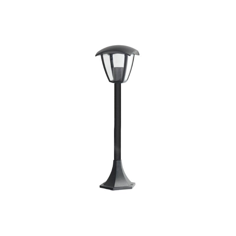 ILUMINASHOP Balise Noir pour Jardin Extérieur 1XE27 800mm IP44 - Iluminashop