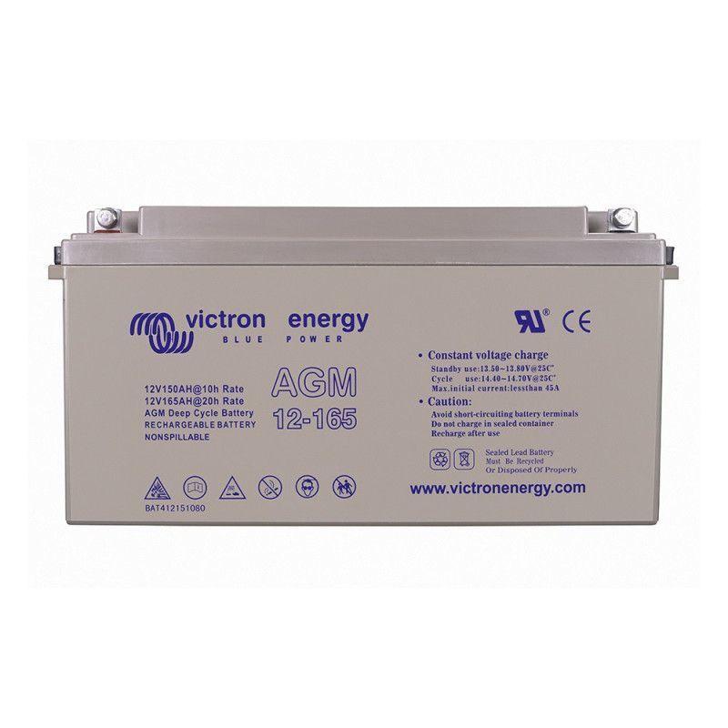 VICTRON Batterie décharge lente Victron BAT412151084 AGM 12v 165ah