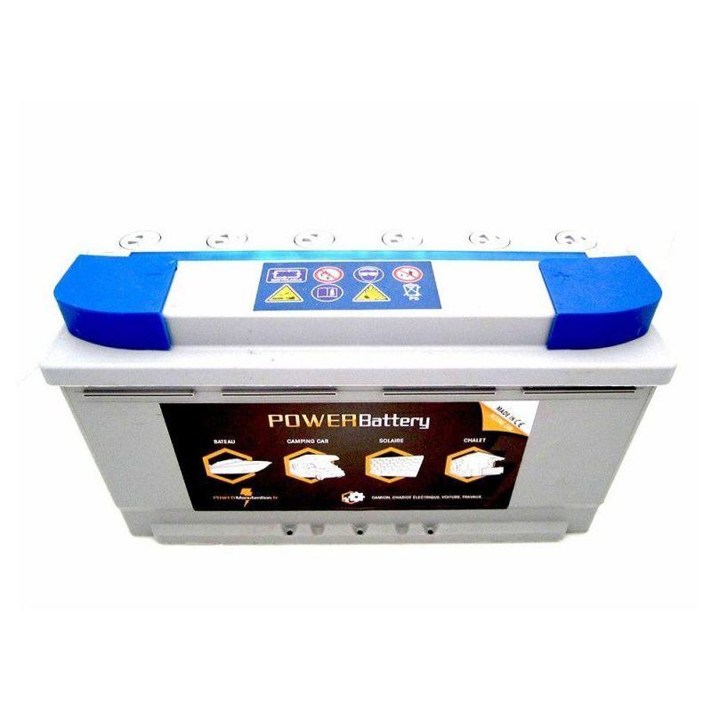 POWER BATTERY Batterie décharge lente AGM 12v 105ah - Power Battery
