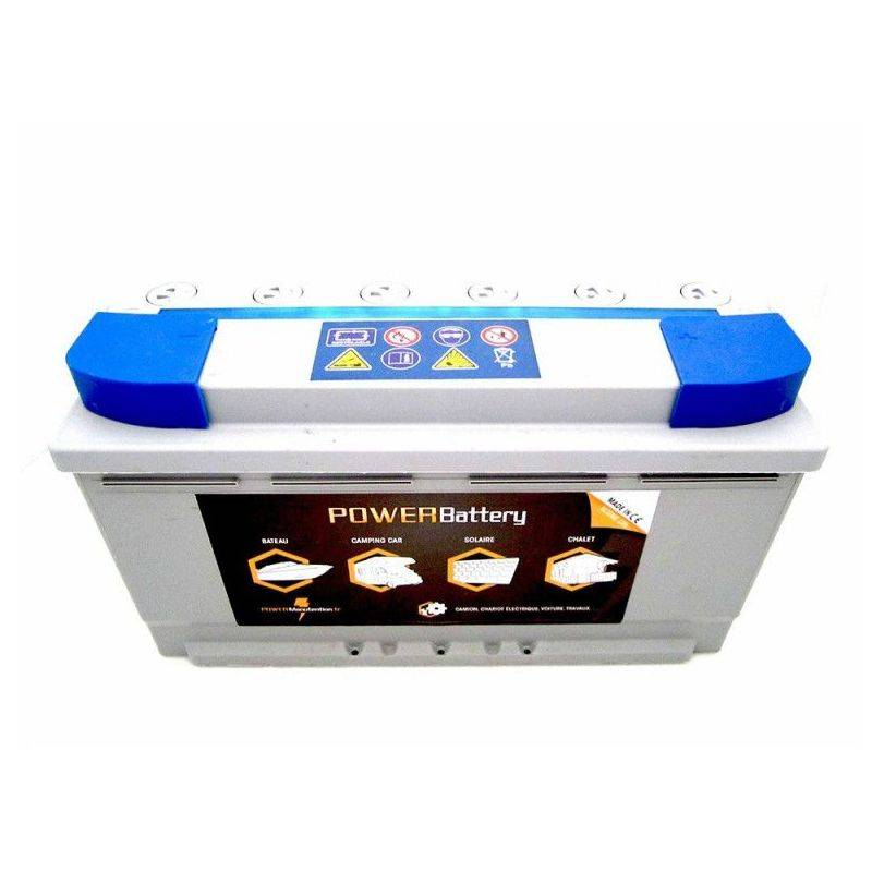 POWER BATTERY Batterie décharge lente AGM Power Battery 12v 105ah