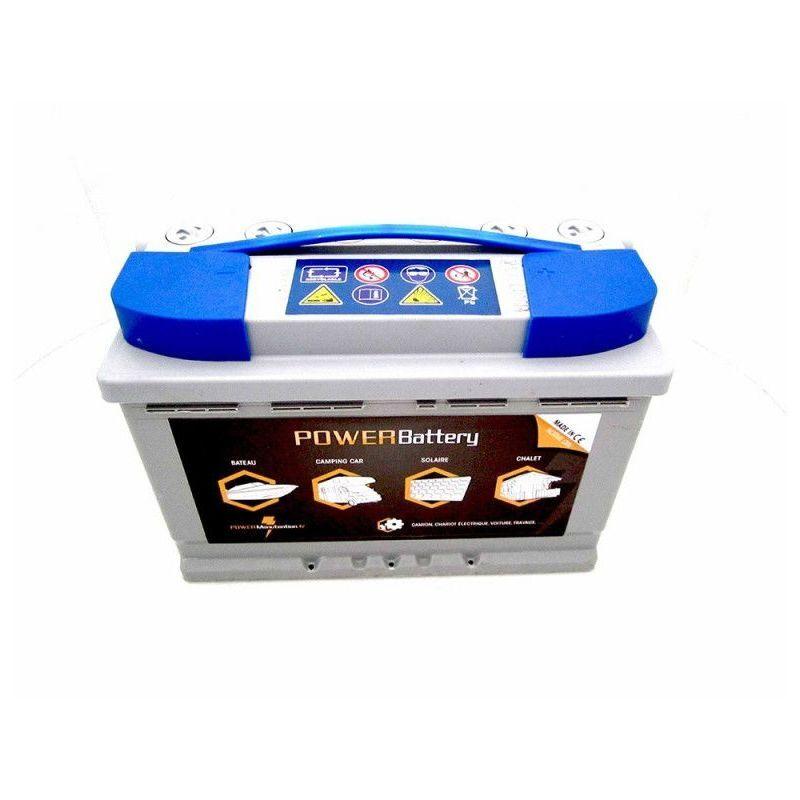 POWER BATTERY Batterie décharge lente AGM 12v 88ah - Power Battery