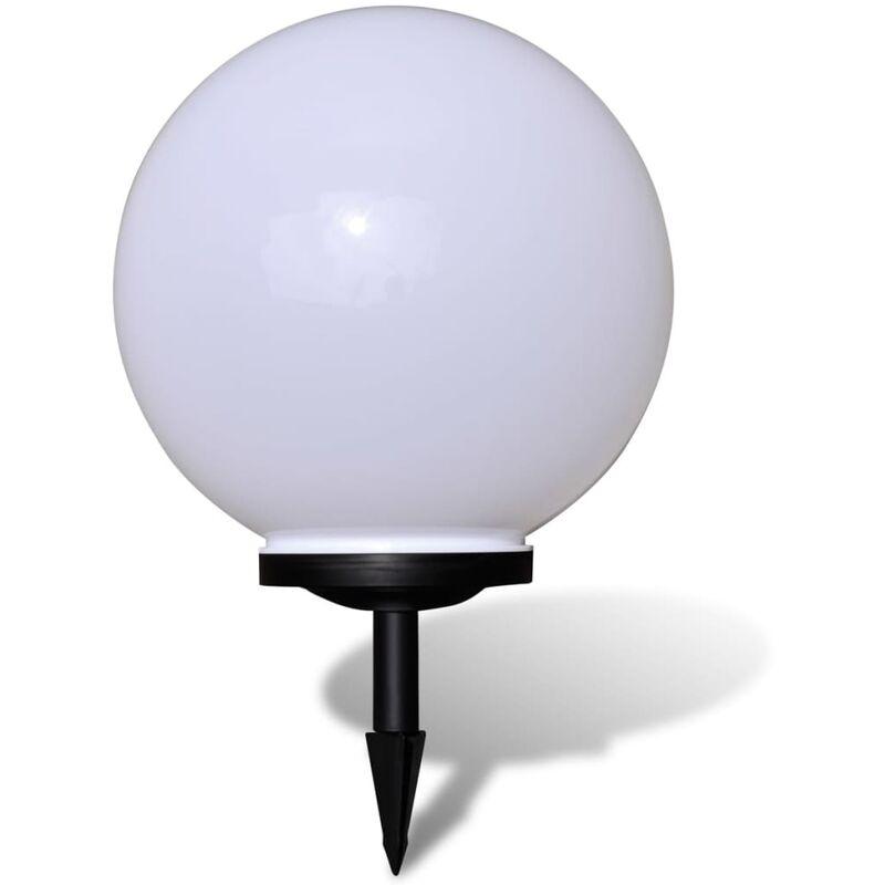 VIDAXL Boule solaire extérieure de jardin 40cm 1 pc avec piquet de sol