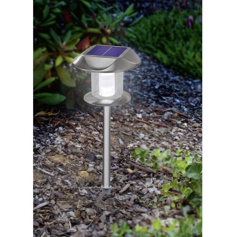 ESOTEC Lampe de jardin solaire Sunny 102093 LED N/A acier inoxydable 1 pc(s) - Esotec
