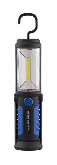 KING TONY Lampe d'inspection 3W COB + 5 LED à batterie 3,7 V 2,6 Ah - Longueur 220 mm