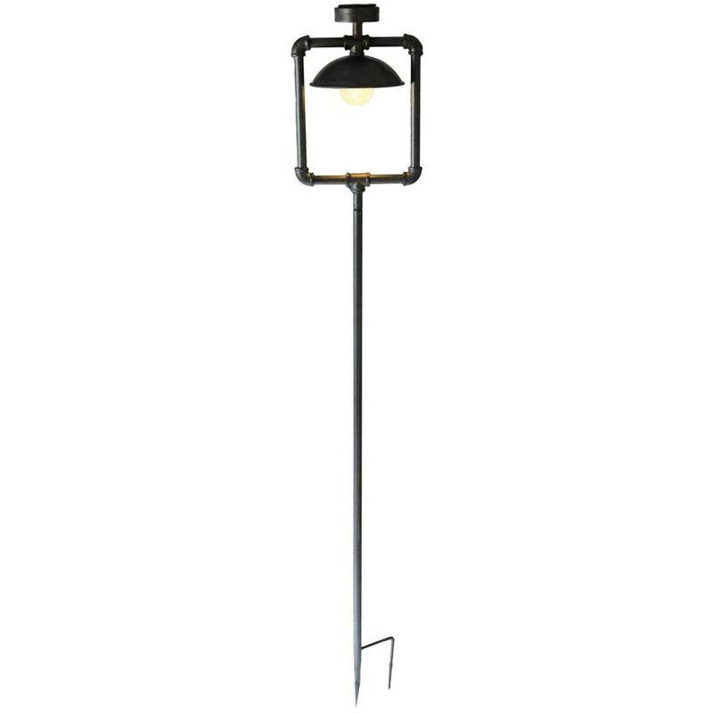 HARMS Vintage LED Solaire Jardin Lampe Patio Éclairage Extérieur Plug Lumière Antique