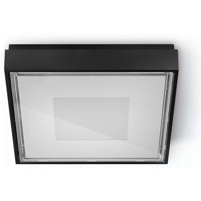 Cristher - Plafond VIENA SQ IP65 LED 4,3W 400lm 3K Noir