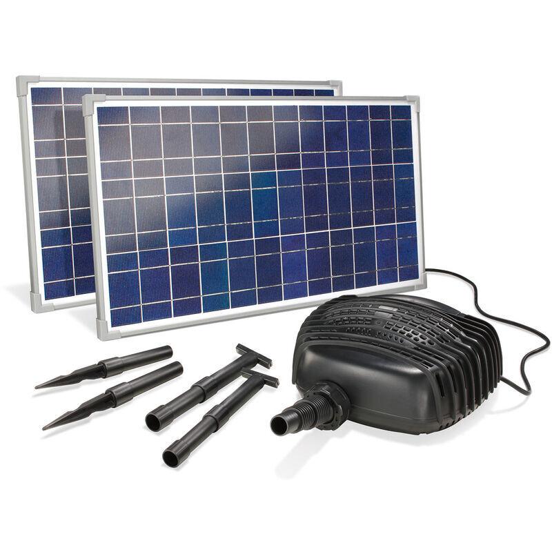 Esotec - Pompe solaire de cours d?eau 50W 3400 l / h Pompe solaire Pompe