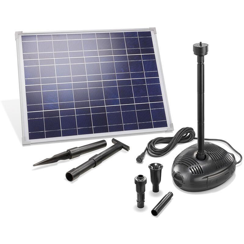 Esotec - Pompe solaire pour bassin 35W 1700 l/h Pompe solaire pour bassin de