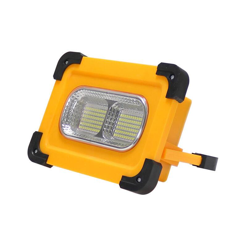 ILUMINASHOP Projecteur LED Solaire 50W Portable IP66 + Power Bank - Iluminashop