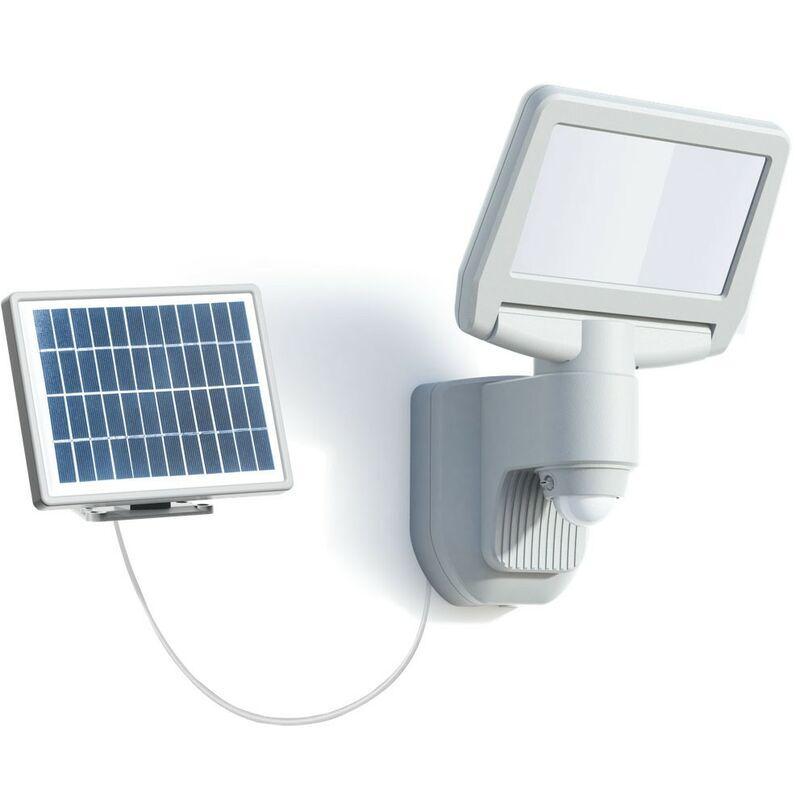 Arev - Projecteur solaire 15W LED 1000 lumens