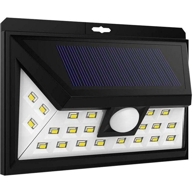 Lumi Jardin - Projecteur solaire applique murale eclairage puissant 45 LED