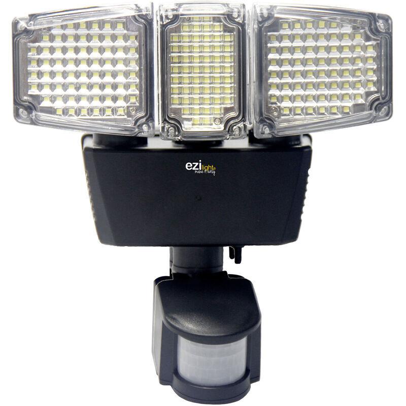 EZILIGHT Projecteur solaire LED ® Solar pro 3 - Ezilight