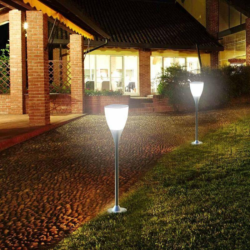 SUPERNOVA Réverbère lampe solaire jardin Led extérieure Sunway