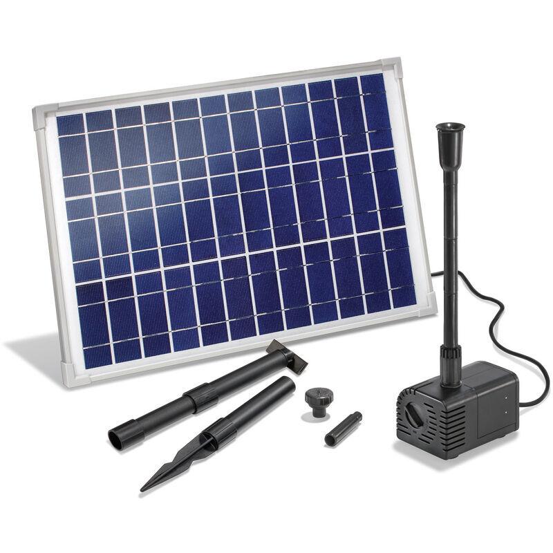 Esotec - Pompe solaire pour bassin 20W 1300 l Pompe solaire pour bassin de