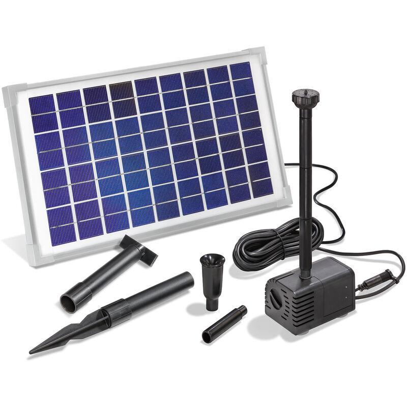 Esotec - Pompe solaire pour bassin 10W 600 l/h Pompe solaire pour bassin de
