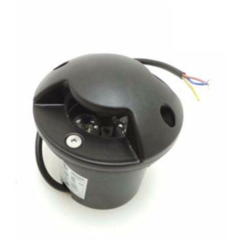 SILAMP Spot LED Encastrable Extérieur IP65 220V Sol 3W Walkable 2 faisceaux - Blanc
