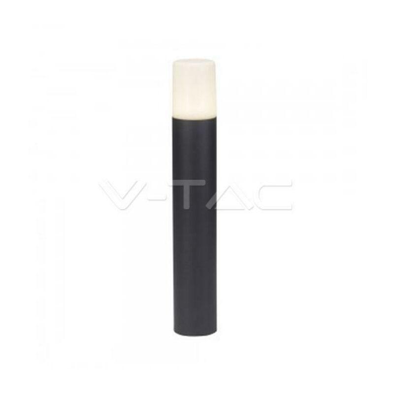 V-TAC Poteau Rond En Aluminium 1Xgu10 H 50 Cm Ip54 Noir Vt-7617 7567