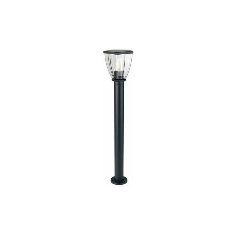 V-TAC VT-839 Lampe de jardin 1xE27 800mm Acier inoxydable Gris foncé IP44 - SKU
