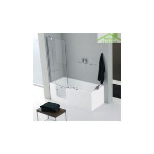 NOVELLINI Baignoire à porte NOVELLINI IRIS version COMBY avec pare-baignoire - Publicité