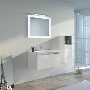 Distribain - Meuble de salle de bain TIVOLI 800 Blanc - Publicité