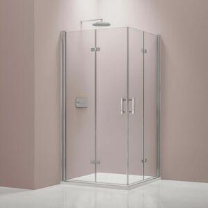BERNSTEIN Paroi de douche avec porte pliante en verre NANO 8 mm DX213 - largeur - Publicité