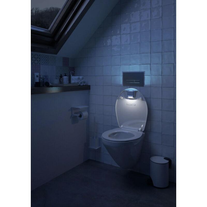 ALLIBERT Abattant WC éclairant Nighty Allibert
