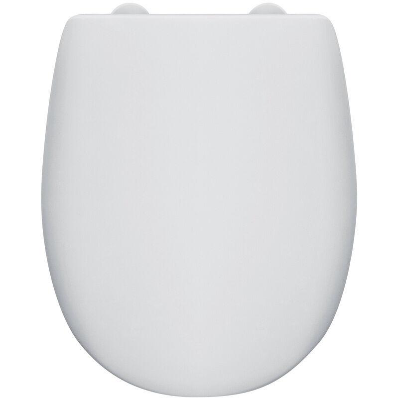 OLFA Abattant wc bois OLFA Ariane blanc déclipsable