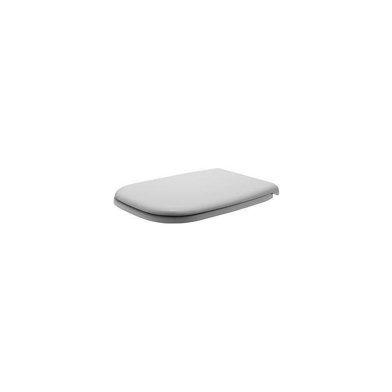 Banyo - Abattant WC Duravit D-Code standard, blanc pour WC compact