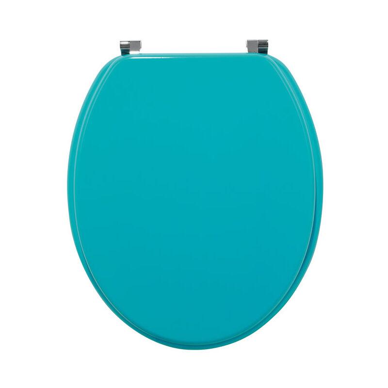 WIRQUIN Abattants WC Colors Line bois unis - abattant Colors Line turquoise - Wirquin