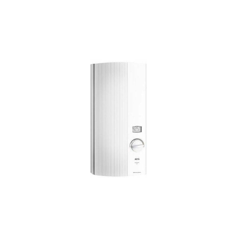 AEG 222392 Chauffe-eau électronique DDLE LCD 18 Blanc 18 kW 400 V - AEG