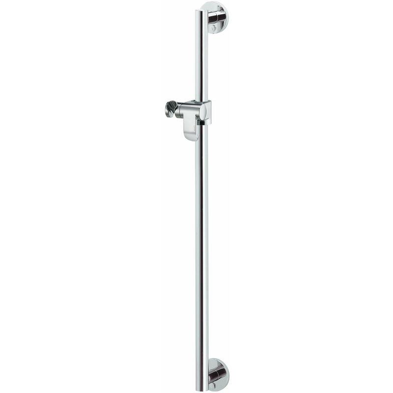 KEUCO Barre de douche Plan Care 34912, complète avec douchette, 882mm, Coloris: