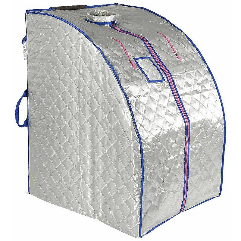 JEOBEST Boîte de sauna portable infrarouge - Spa à Domicile pour une Personne - Idéal