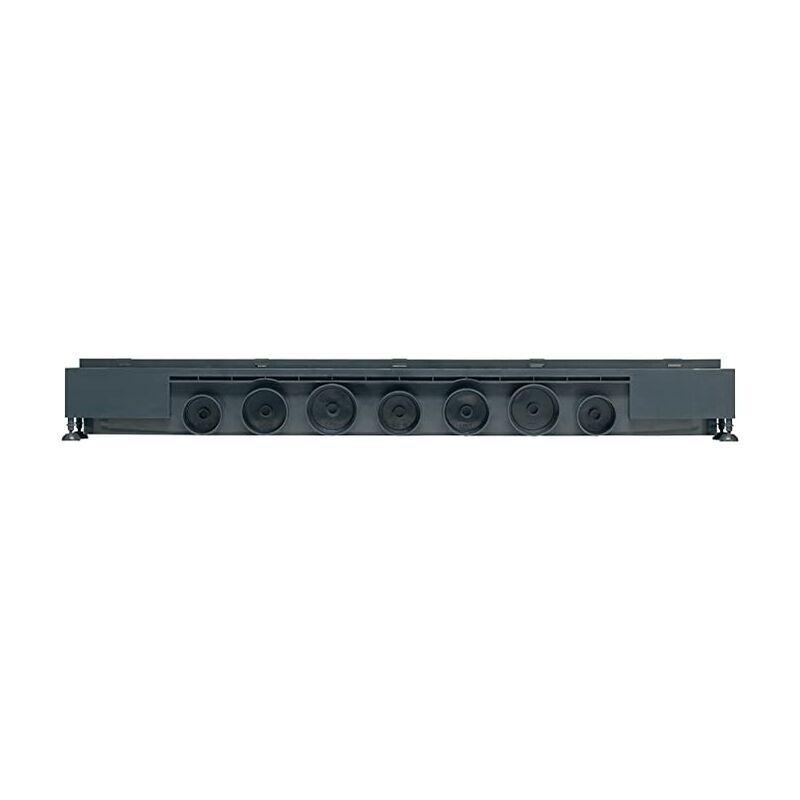 WIRQUIN Caniveau de douche à l'italienne grille trait - Express'eau L.800 mm grille
