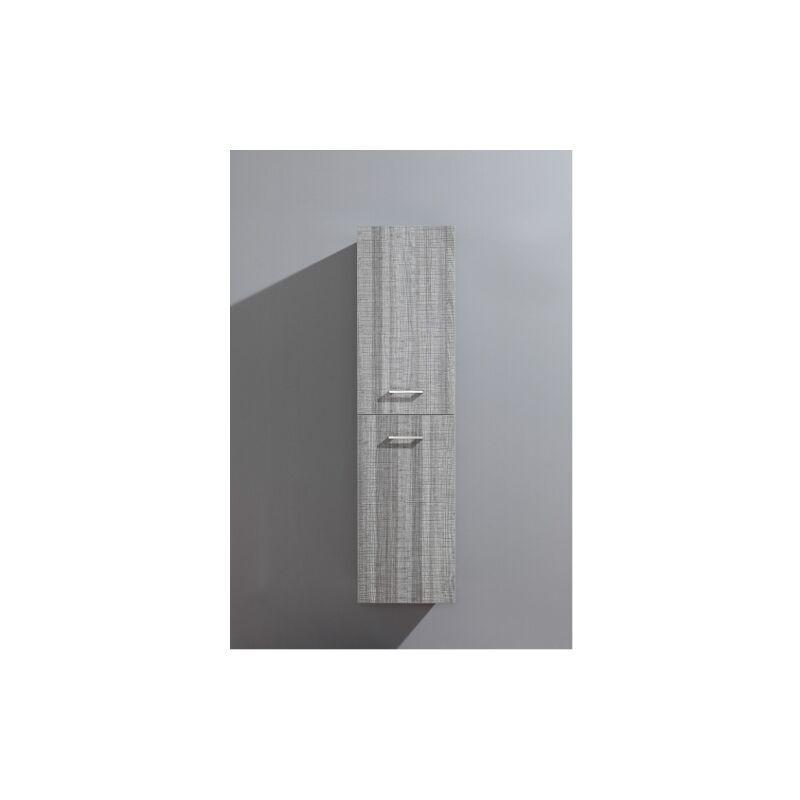 SANITAIRE.FR Colonne de salle de bain Jupiter 2.0 135cm Bois Gris Scié
