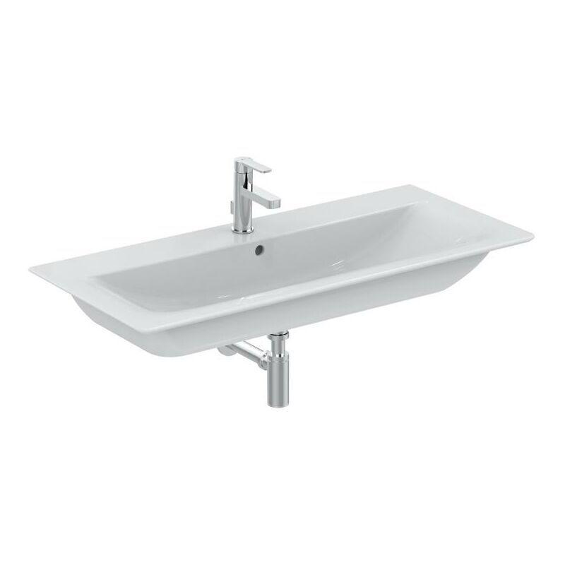 Ideal Standard Meuble de toilette Connect Air 640mm E0289, Coloris: Blanc avec
