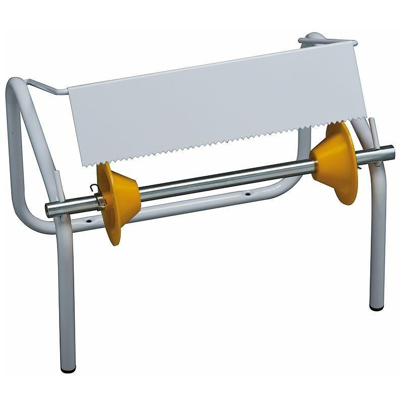 MEDIAL Porte-rouleau industriel   acier peint époxy   Blanc   1 rôle   932x275x345