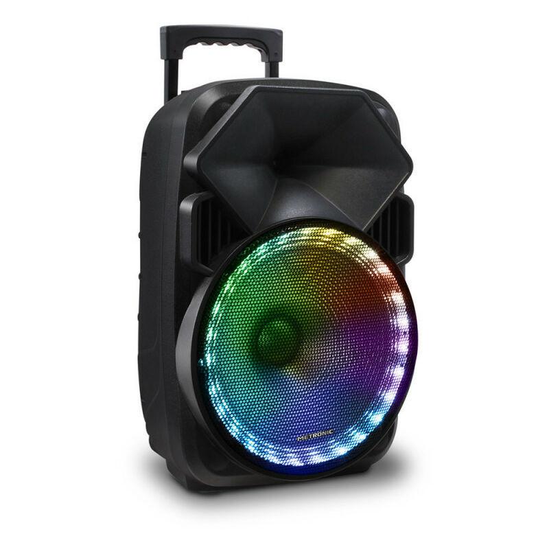 METRONIC Enceinte sono portable high power bluetooth TWS - noire