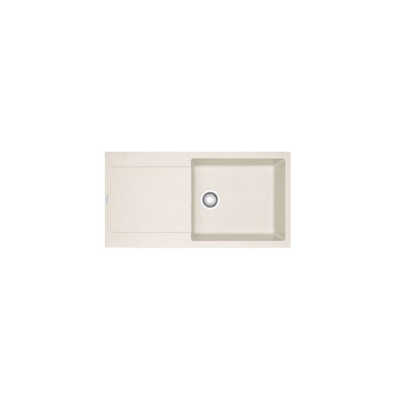 FRANKE Evier MARIS FRAGANIT MRG611-XL Vanilla (sous meuble 60cm) 970x500x200mm
