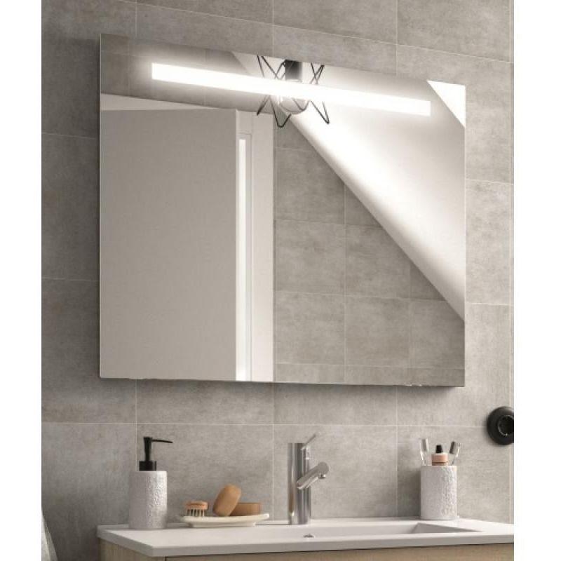 SALGAR Miroir de salle de bain Sunset 1200 x 600 mm avec bande éclairante LED 12W +